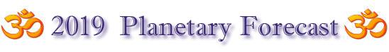 Planetary Forecast